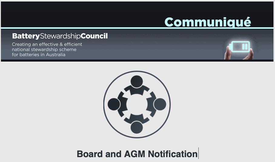BSC Communique – 18 November 2020