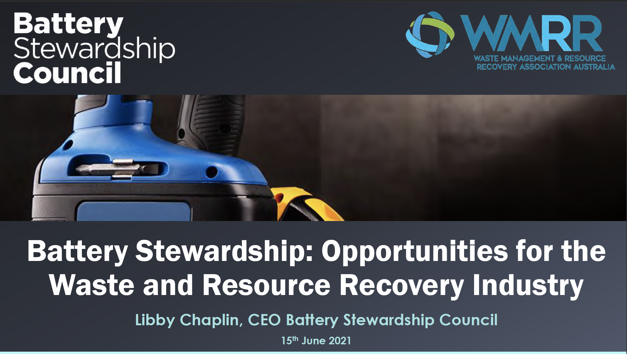 BSC Webinar for Waste Management and Resource Recovery Association  Copy